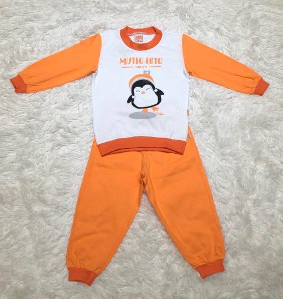 Pijama Malha Pinguim