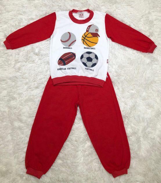 Pijama Malha Esportes