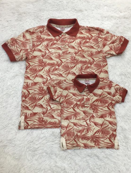 Camisa Polo Estampa Filho