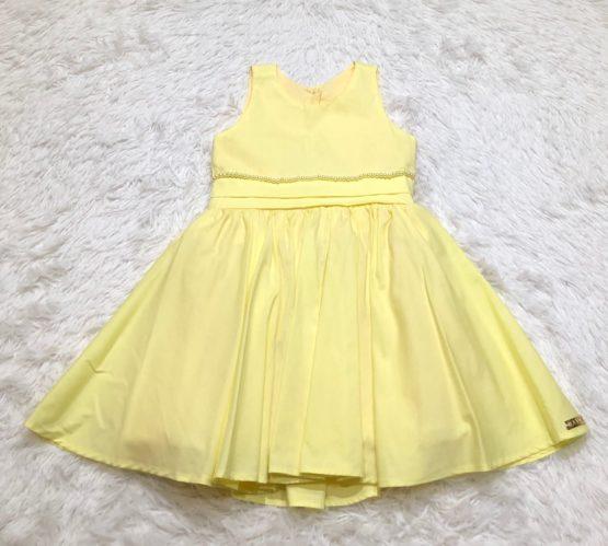 Vestido Festa Amarelo