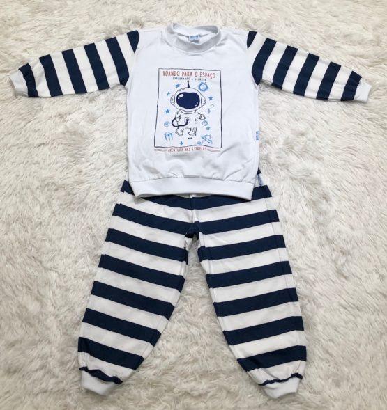 Pijama Malha Astronauta