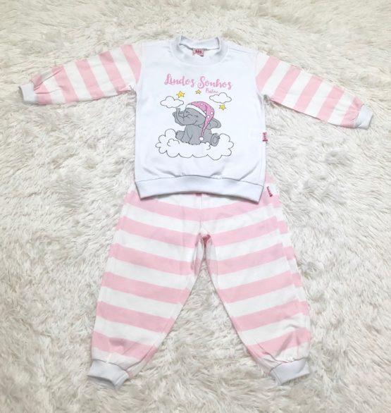 Pijama Malha Elefante