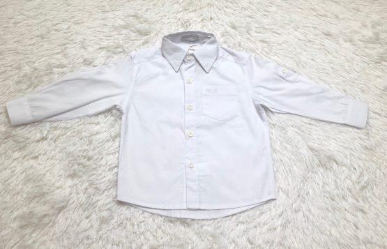 Camisa Botão Branca ML