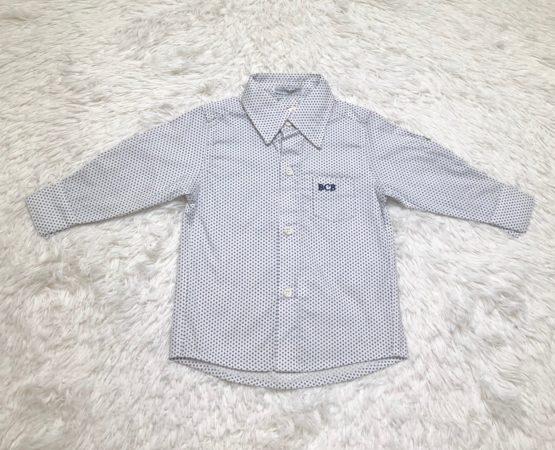 Camisa Botão Poá ML