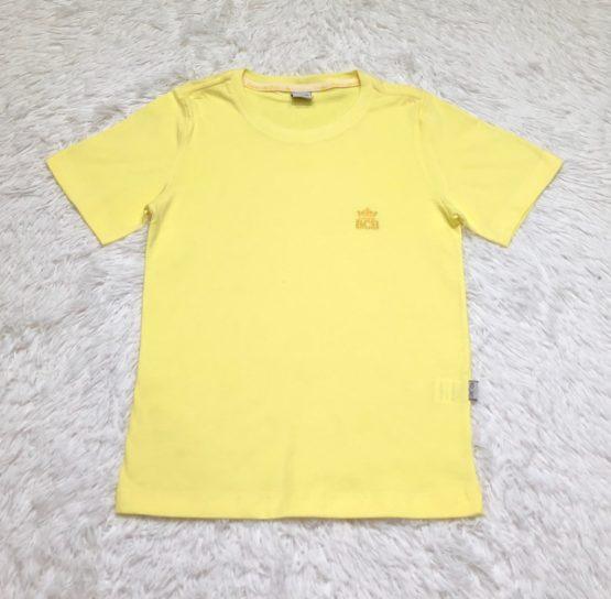 Camiseta Básica Amarelo Claro