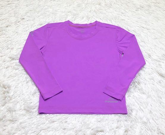 Camiseta Proteção Solar Lilas