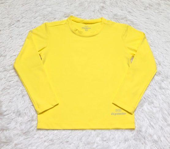Camiseta Proteção Solar Amarelo