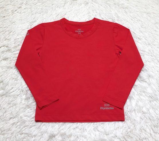 Camiseta Proteção Solar Vermelha