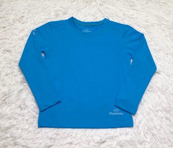 Camiseta Proteção Solar Azul Turquesa