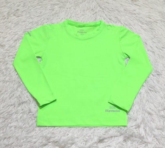Camiseta Proteção Solar Verde  Limão