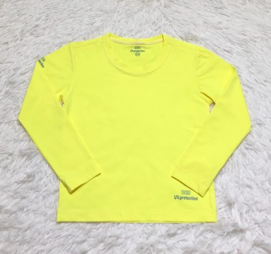Camiseta Proteção Solar Amarelo Claro