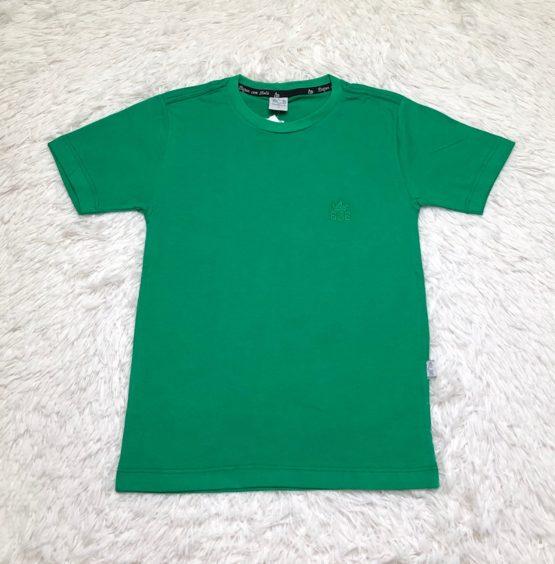 Camiseta Básica Verde Bandeira