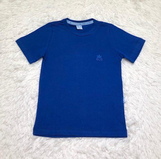 Camiseta Básica Azul Bic
