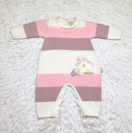 Macaquinho Linha Baby Listra