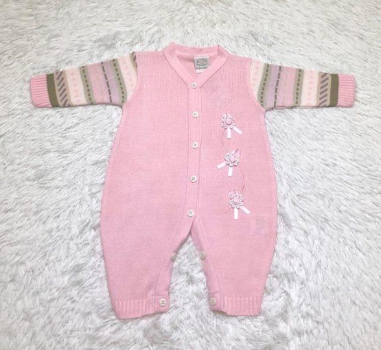 Macaquinho Baby Linha Rosa