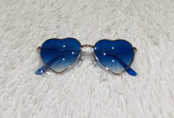 Óculos Coração Azul
