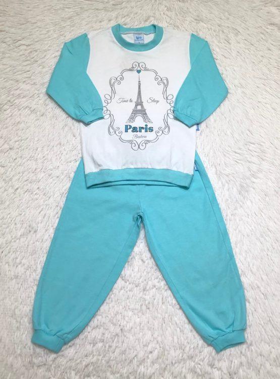 Pijama Paris Azul