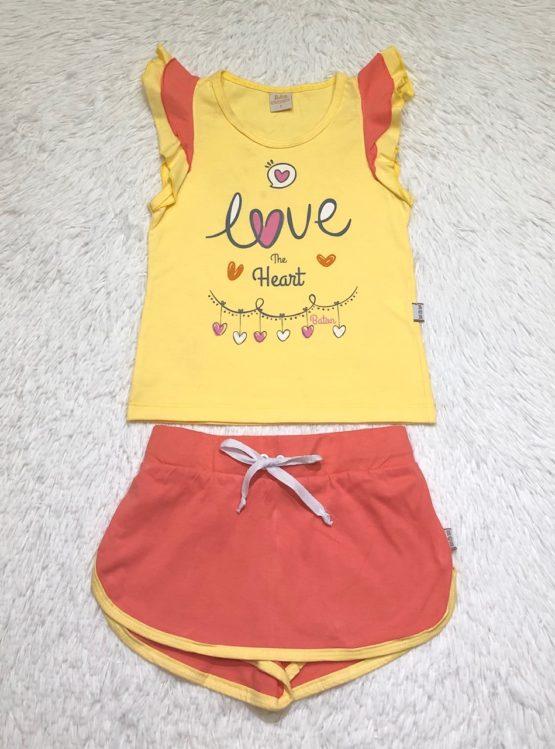 Conjunto Amarelo Love
