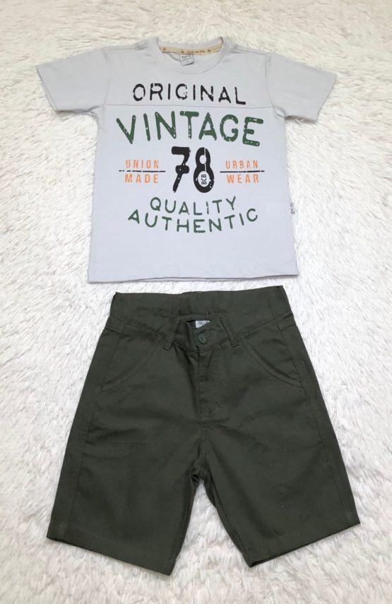 Conjunto de Vintage 78