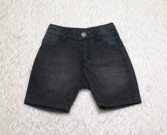 Bermuda Jeans Preta