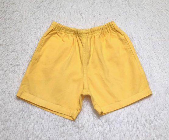 Short Mauricinho Amarelo