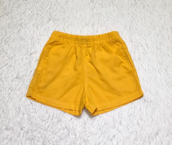 Short Mauricinho Amarelo Escuro