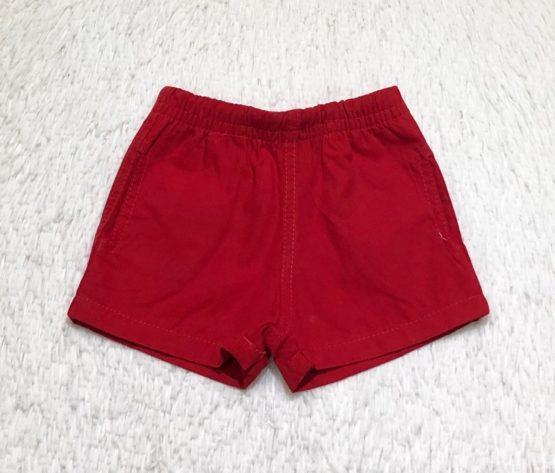 Short  Mauricinho Vermelho