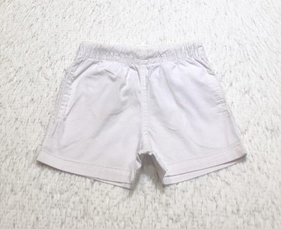 Short Mauricinho Branco