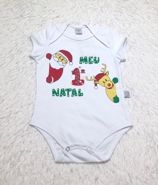 Body Natalino Meu Primeiro Natal