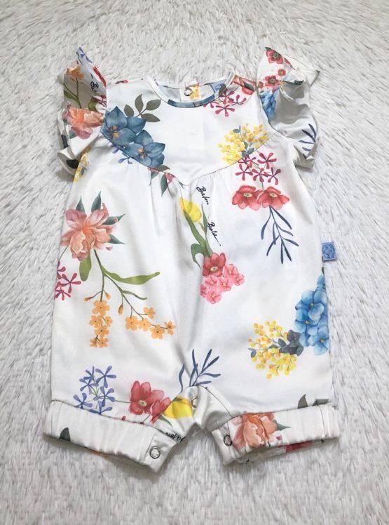 Macaquinho Baby Coleção Flor