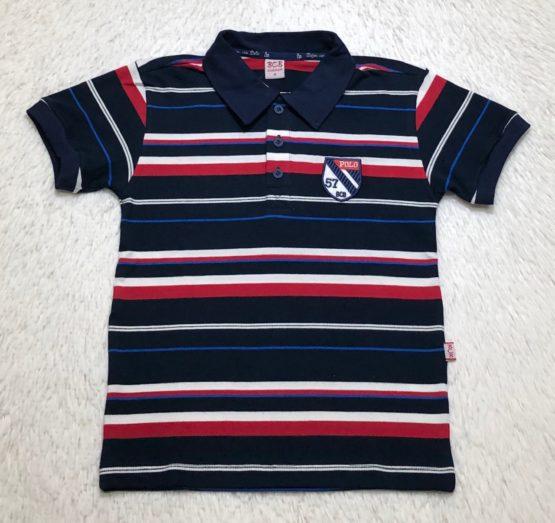 Camisa Polo Listrada