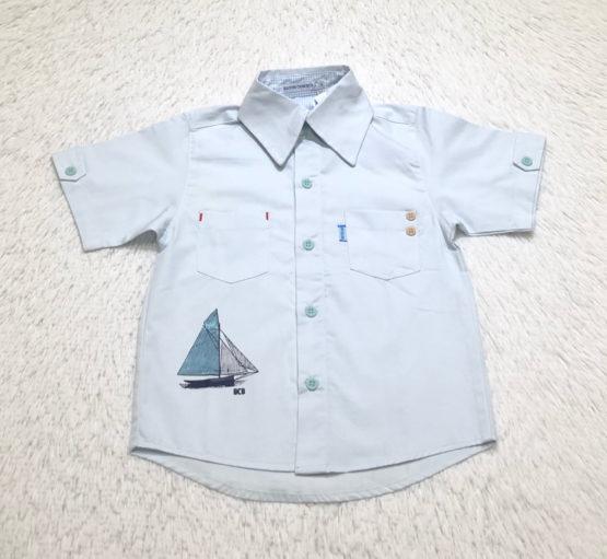 Camisa Silk Barco