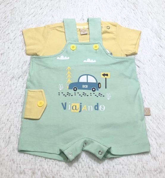 Conjunto Salopete Baby Viajando