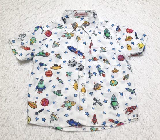 Camisa Coleção Foguete