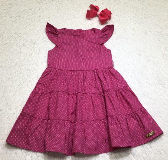 Vestido Póa Pink