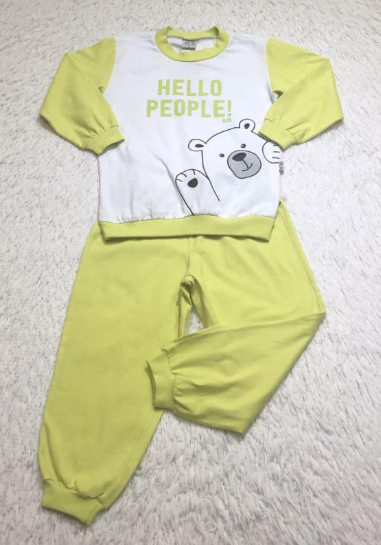 Pijama Silk Urso
