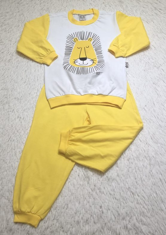 Pijama Silk Leão