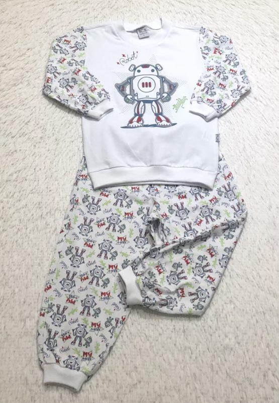 Pijama Robô