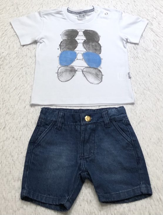 Camiseta Filho Silk Óculos